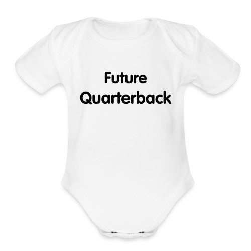Future Quarterback - Organic Short Sleeve Baby Bodysuit