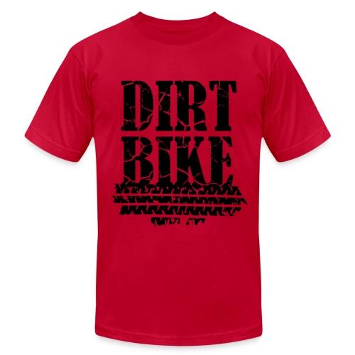 Dirt Bike Black Shirt - Men's  Jersey T-Shirt