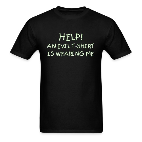 EVIL T-SHIRT (Glow In The Dark) - Men's T-Shirt