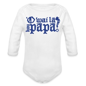 Hawaiian - Who's your daddy? - Long Sleeve Baby Bodysuit