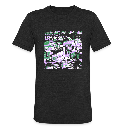 Data Tee - Unisex Tri-Blend T-Shirt by American Apparel