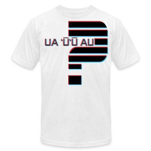 Hawaiian - Did I Stutter? 3D Anaglyph - Men's Fine Jersey T-Shirt