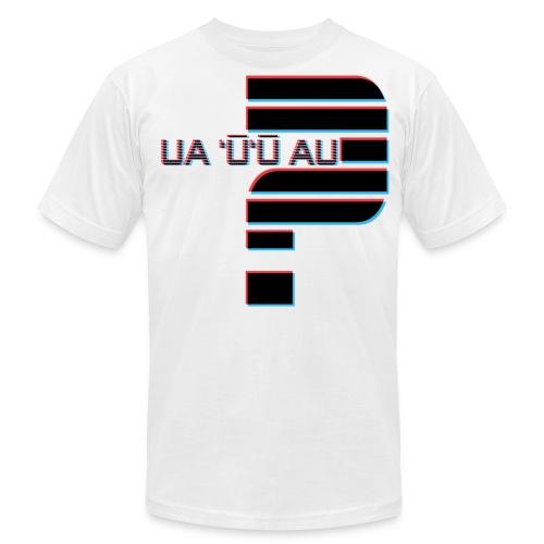 Hawaiian - Did I Stutter? 3D Anaglyph - Men's Fine Jersey T-Shirt