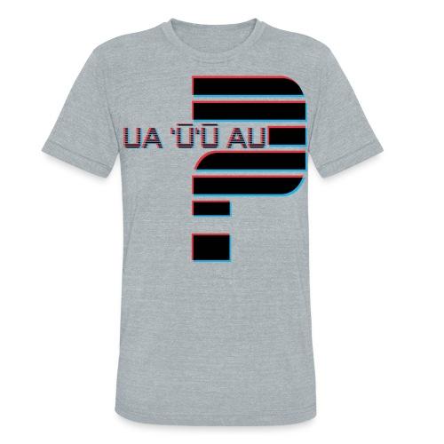 Hawaiian - Did I Stutter? 3D Anaglyph - Unisex Tri-Blend T-Shirt