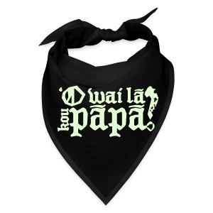 Hawaiian - Who's your daddy? - White / Glow in the dark - Bandana