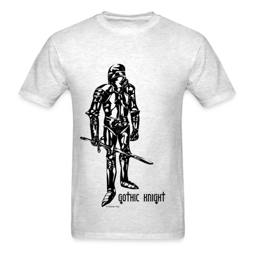 Gothic Knight Men's Standard T-shirt - Men's T-Shirt