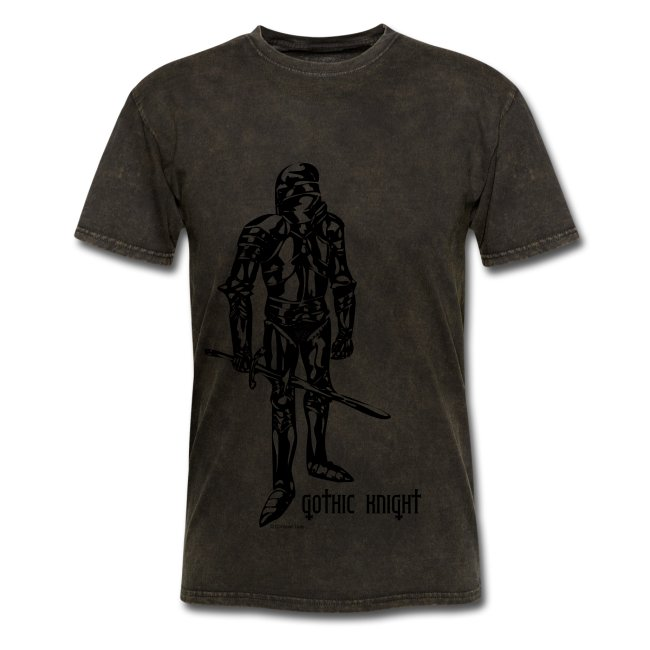 Gothic Knight Men's Standard T-shirt