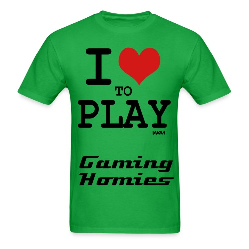 I love to play - Men's T-Shirt