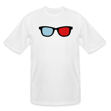 old skool nerdy 3d glasses T-Shirts