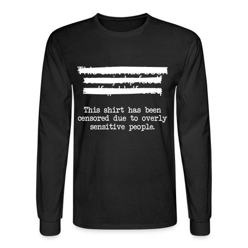 Censored - Men's Long Sleeve T-Shirt