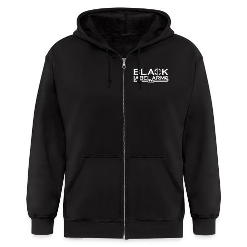 Men's Black Label Zip Hoodie  - Men's Zip Hoodie