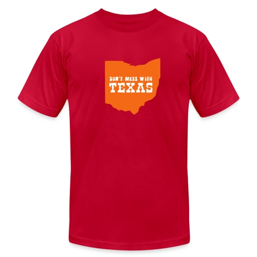[dontmesswithtexas] - Men's T-Shirt by American Apparel
