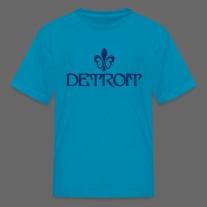 Fleur De Lis Detroit Children's T-Shirt - Kids' T-Shirt