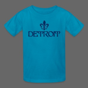 Fleur De Lis Detroit Children's T-Shirt - Kids' T-Shirt