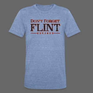 Don't Forget Flint Men's Tri-Blend Vintage T-Shirt - Unisex Tri-Blend T-Shirt