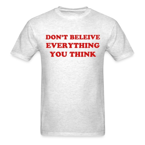 THIS IS A QUOTE - Men's T-Shirt
