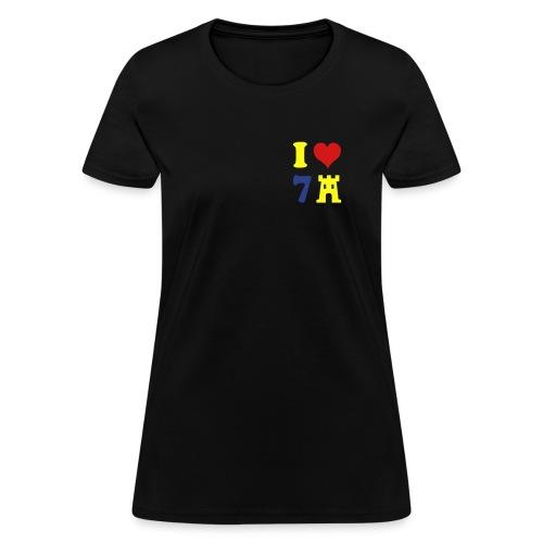 I LOVE 7CASTLES  - Women's T-Shirt