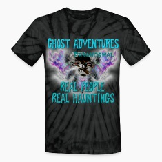Ghost Adventures Real People Real Huntings T-Shirts