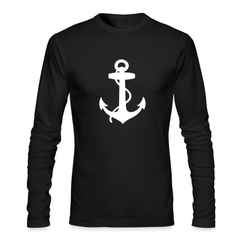 Men's Long Sleeve T-Shirt by Next Level - summer,sailing,riparian,nautical,casual,boat,beach