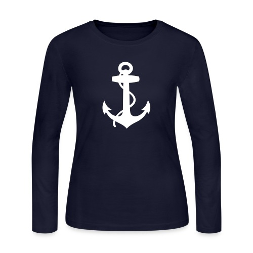 Women's Long Sleeve Jersey T-Shirt - summer,sailing,riparian,nautical,casual,boat,beach