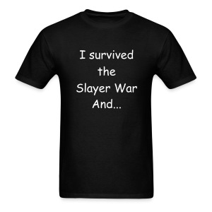 Survived Slayer War Shirt - Men's T-Shirt