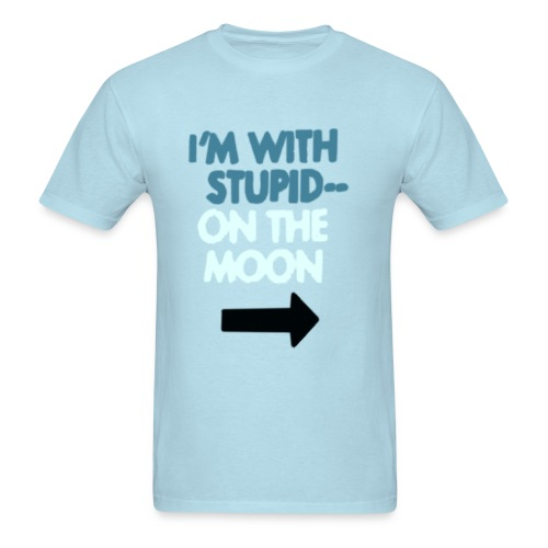 Men's T-Shirt - stupid,moon,futurama