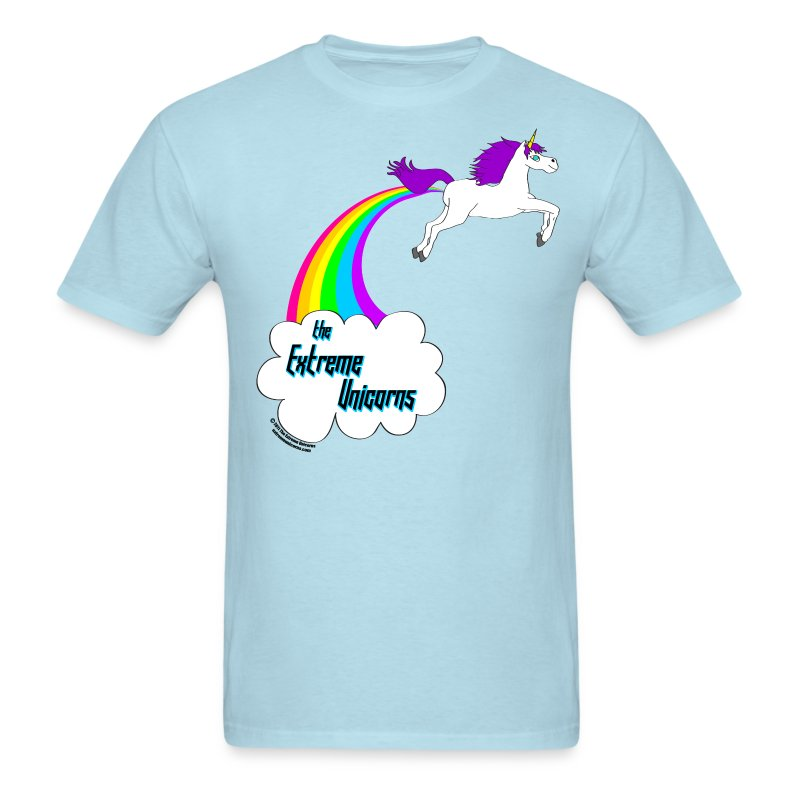 Men's rainbow farting unicorn tee T-Shirt | The Extreme ...