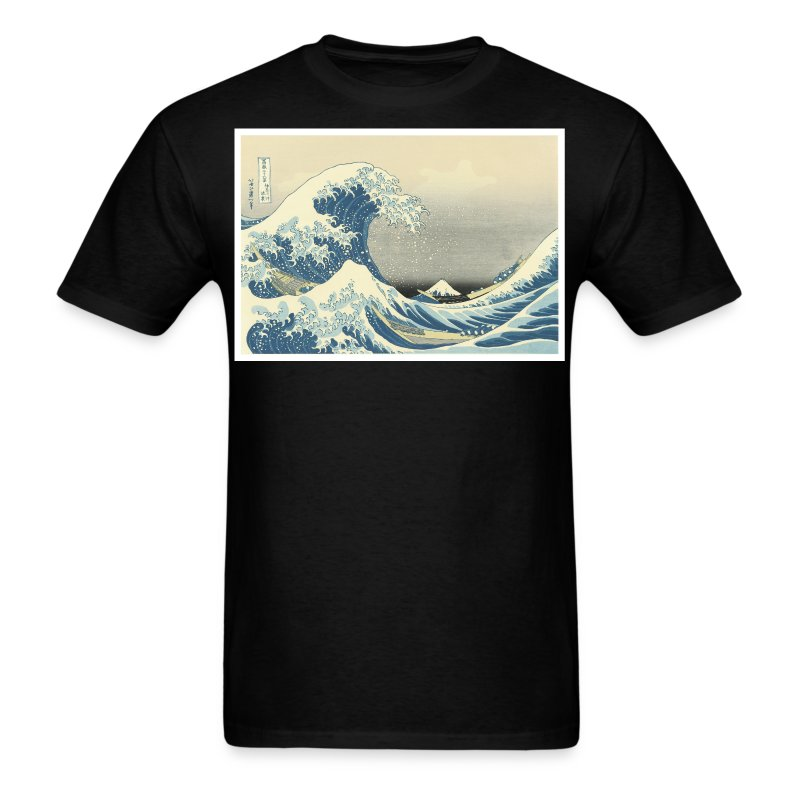 The great wave t shirt spreadshirt The great t shirt