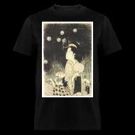 T-Shirts ~ Men's T-Shirt ~ Fireflies In The Night