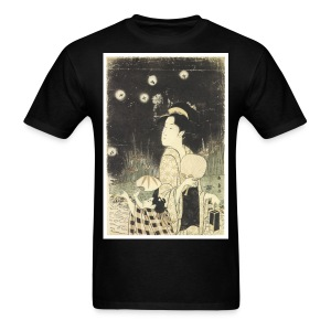 Fireflies In The Night - Men's T-Shirt