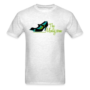 The Minty -gray men's tee - Men's T-Shirt