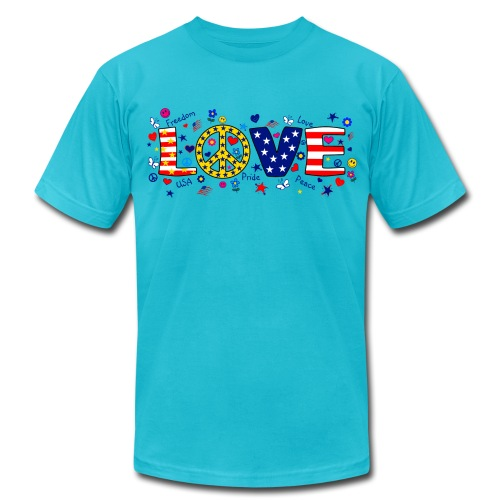 LOOOVE - Men's  Jersey T-Shirt