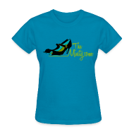 T-Shirts ~ Women's T-Shirt ~ The Minty  women's light blue tee
