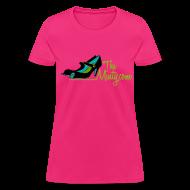 T-Shirts ~ Women's T-Shirt ~ The Minty  women's light blue tee