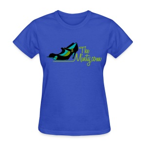 The Minty  women's light blue tee - Women's T-Shirt