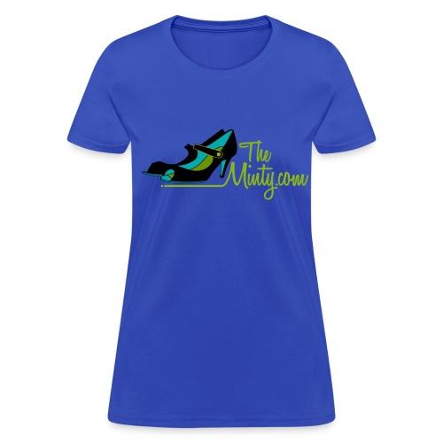 The Minty  women's light blue tee - Women's T-Shirt