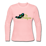 Long Sleeve Shirts ~ Women's Long Sleeve Jersey T-Shirt ~ The Minty women's long sleeved pink