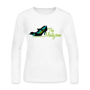 The Minty women's long sleeved white - Women's Long Sleeve Jersey T-Shirt