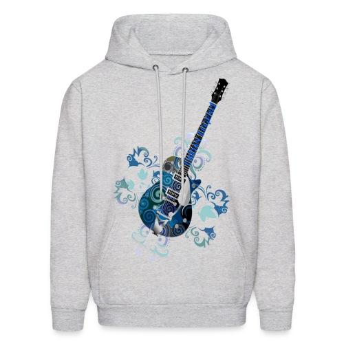 Urban Legend Grunge Guitar Hooded Sweatshirt - Men's Hoodie