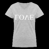 Women's T-Shirts ~ Women's V-Neck T-Shirt ~ [SHINee] Upside Love