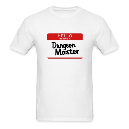 Men's T-Shirt - master,dungeon,dragon