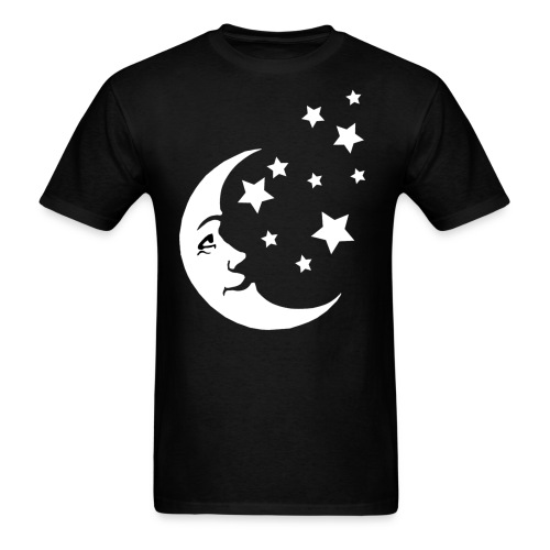 Moon and Stars - Men's T-Shirt