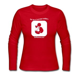 The Joy of Nursing Toddlers - Women's Long Sleeve Jersey T-Shirt