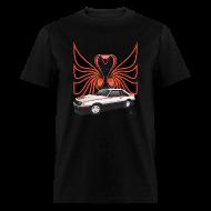 T-Shirts ~ Men's T-Shirt ~ 1980 Mustang Cobra - Polar White - FRONT
