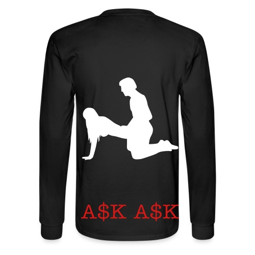 A.S.K. Puppy Style Long Sleeve - Men's Long Sleeve T-Shirt