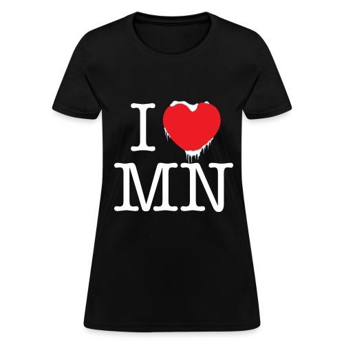 i love MN - Women's T-Shirt