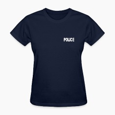 Police-White Women's T-Shirts