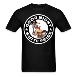 Good night white pride Antifa - Anti-racist - Anti-nazi - Anti-fascist - RASH - Red And Anarchist Skinheads