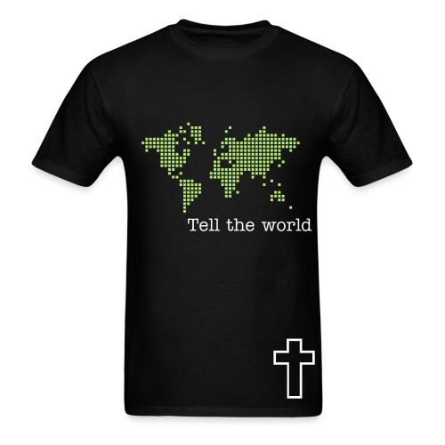 Tell the world - Men's T-Shirt