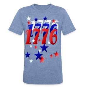1776 - Unisex Tri-Blend T-Shirt by American Apparel